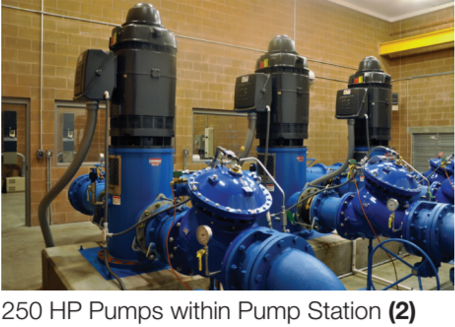 250 HP Pumps within Pump Station (2)